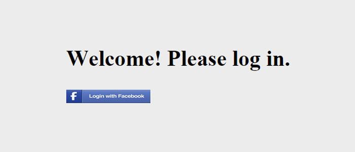 facebok login nodejs express