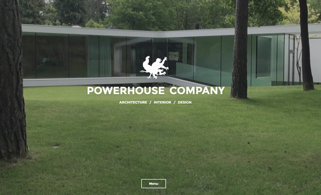 powerhouse company website design video