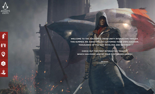 acunity unite dynamic website