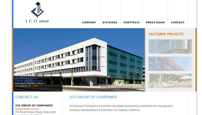 Ico grup geliştirme ana sayfası