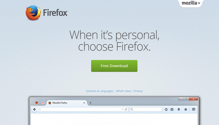 mozilla firefox website