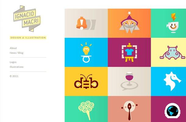 ignacio macri designer illustrator website portfolio