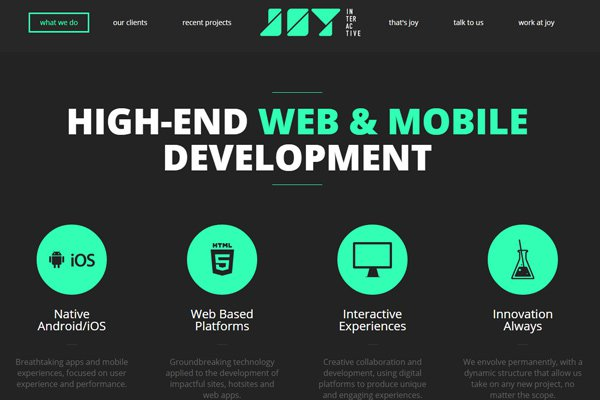 30 inspiring examples of dark minimalist website layouts for Minimalist homepage