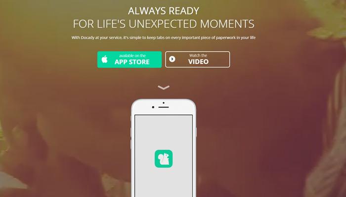 docady app page