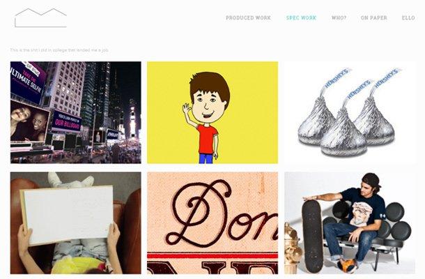 meg linen copywriter simple website layout