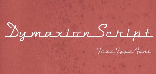 Dymaxion Script