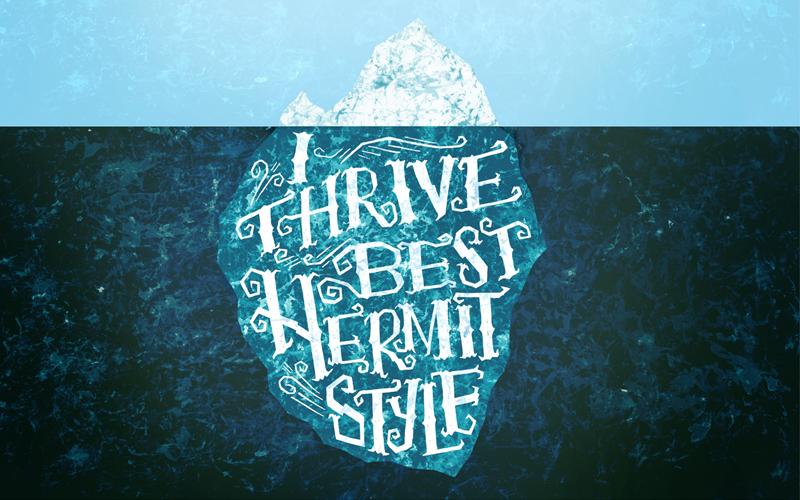 Hermit Style Iceberg by Mary Kate McDevitt
