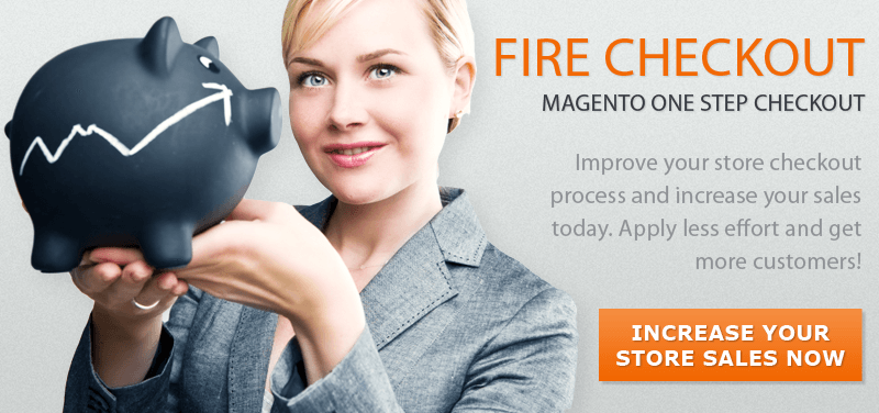 magento checkout fire