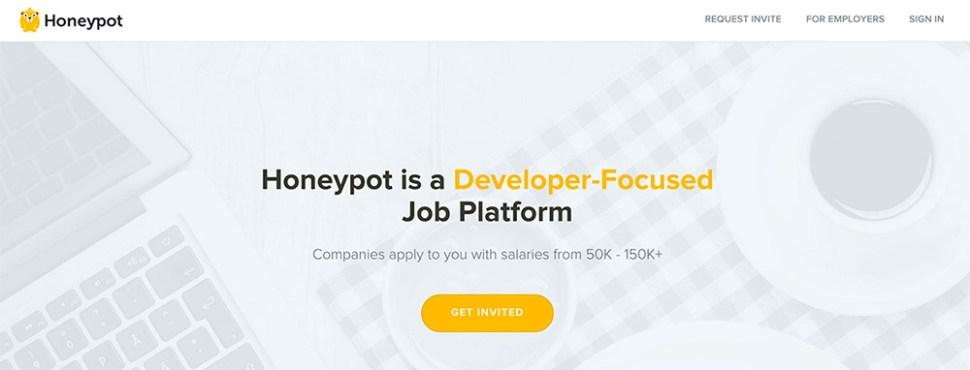 Honeypot homepage