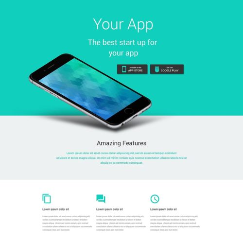21-landing-page-psd-template