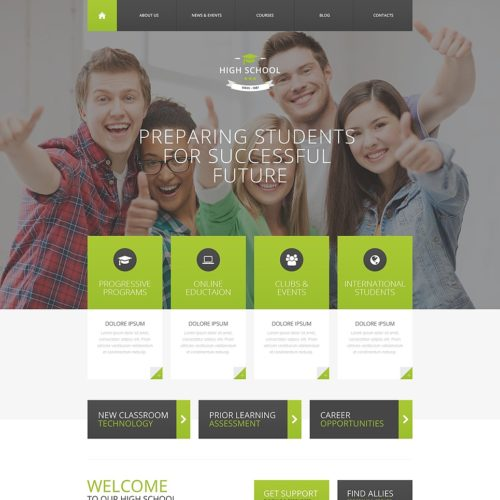 31-education-psd-template