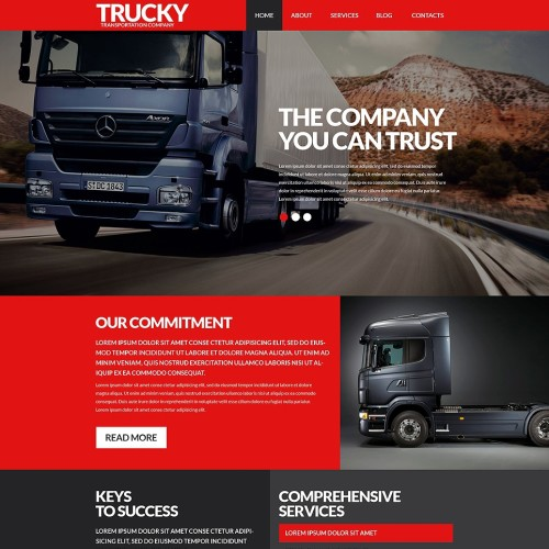 8-transportation-psd-template