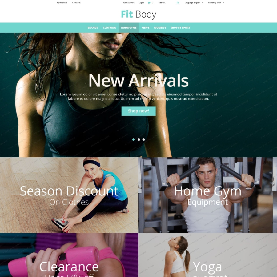 20 Of The Best Free Responsive Ecommerce Templates For