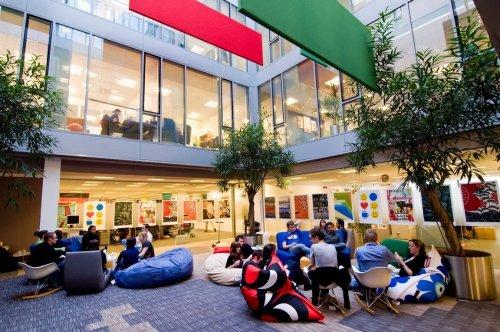 Atrium at Google's Dublin Campus