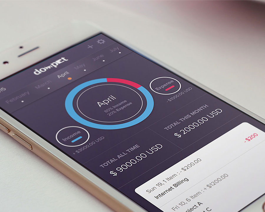 dompet-wallet-app