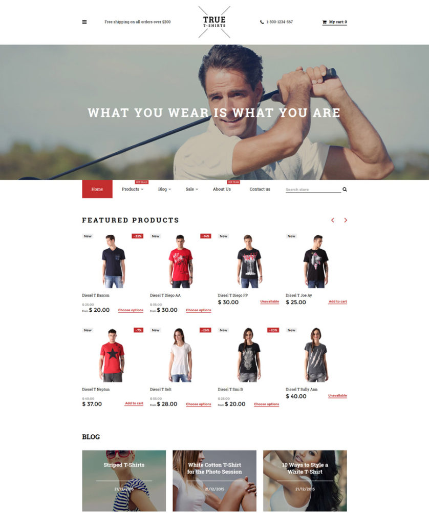 10-true-tshirts shopify theme