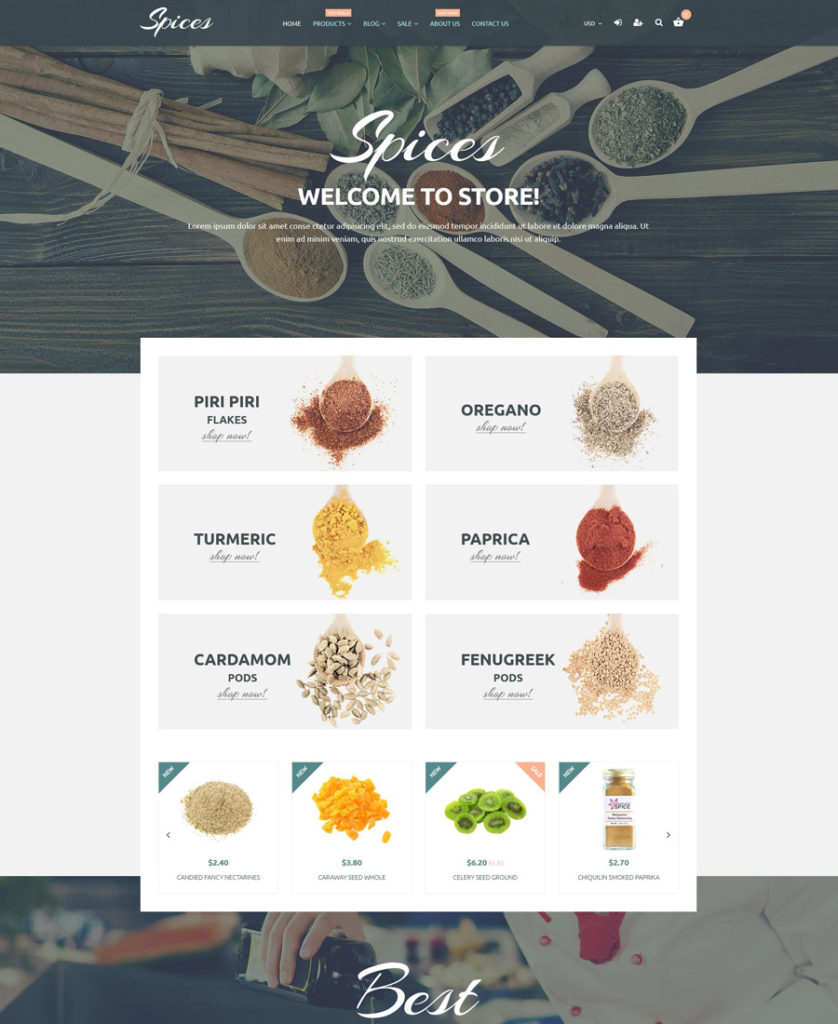24-spices shopify theme