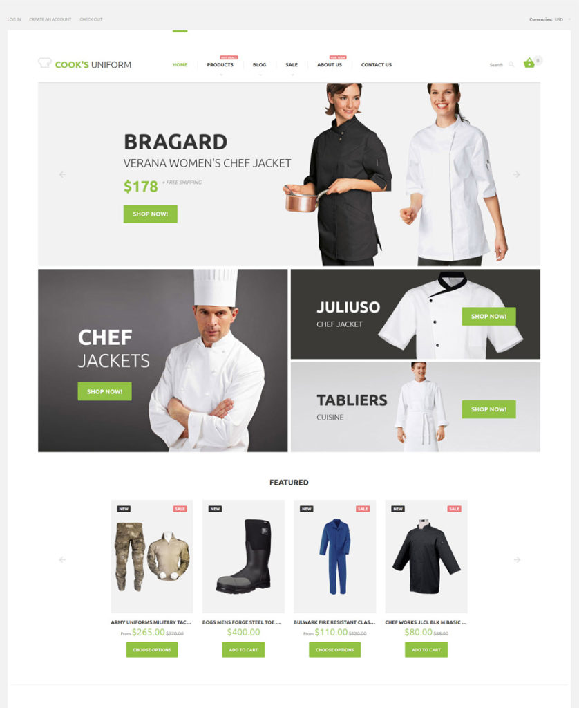 26-uniform-store shopify theme