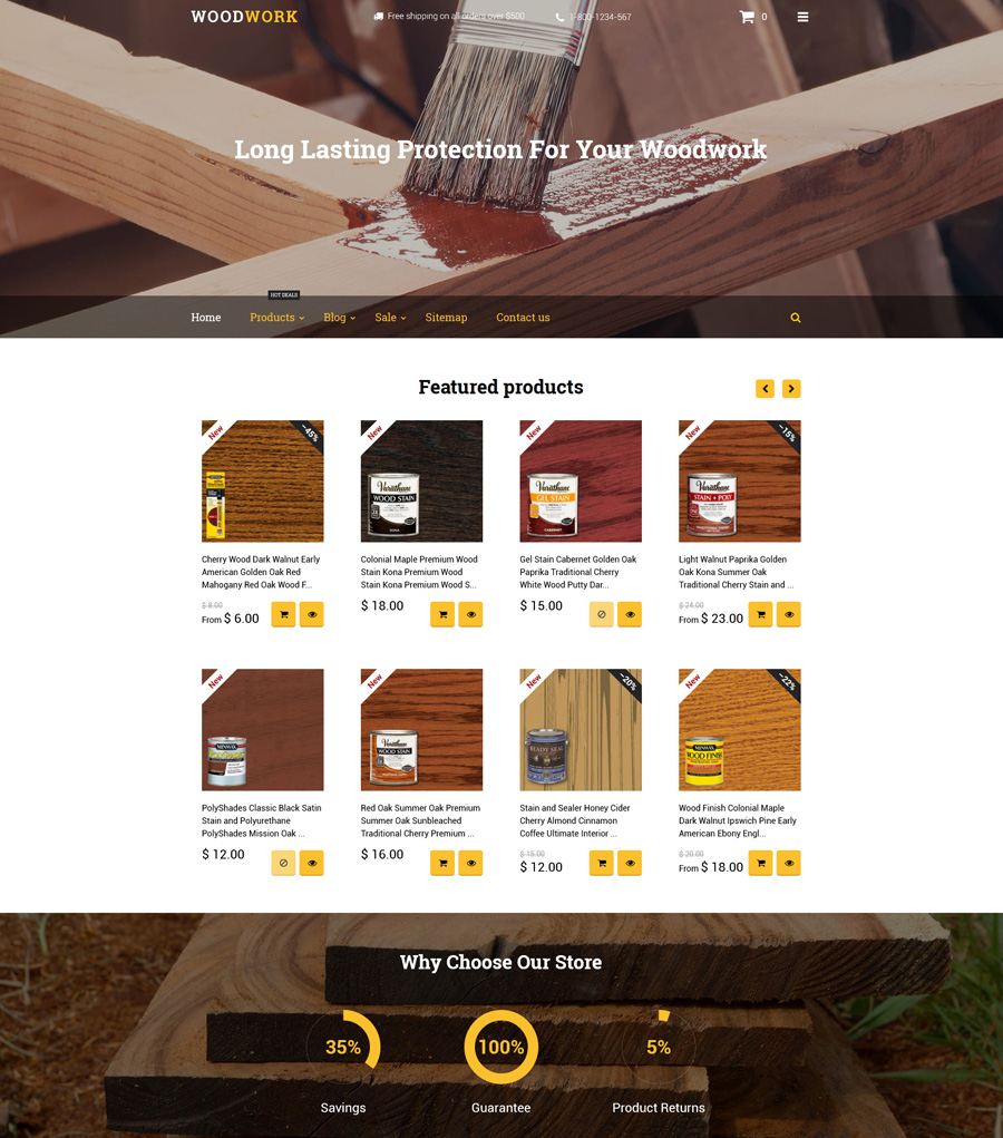 9-woodwork shopify theme