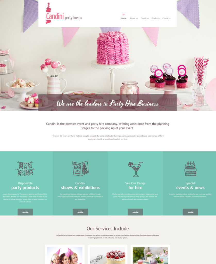16-candini responsive HTML5 templates