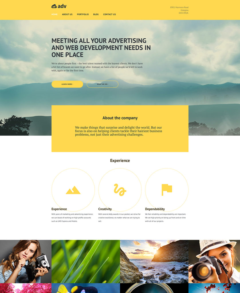Adv-responsive-WordPress-Theme
