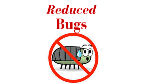 Reduced Bugs