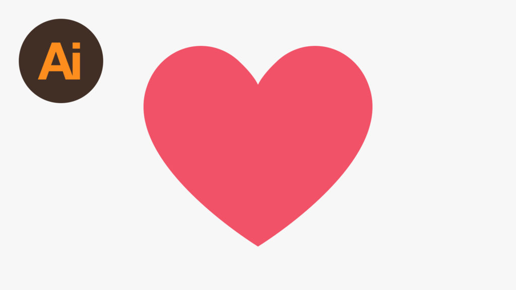 Dansky_Learn How to Draw the Facebook Heart Emoji in Adobe Illustrator