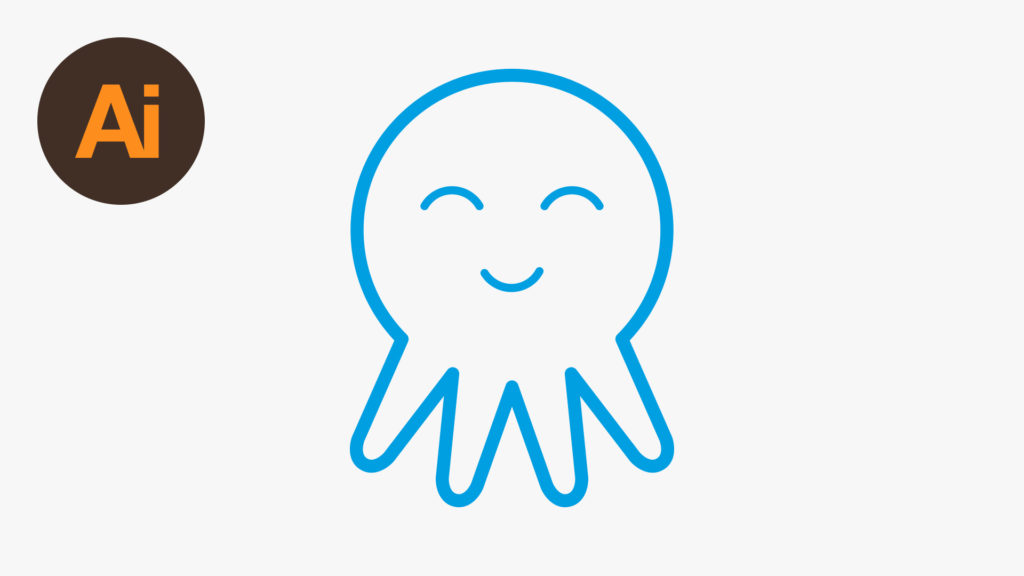 Dansky_Learn How to Draw a Vector Octopus Icon in Adobe Illustrator