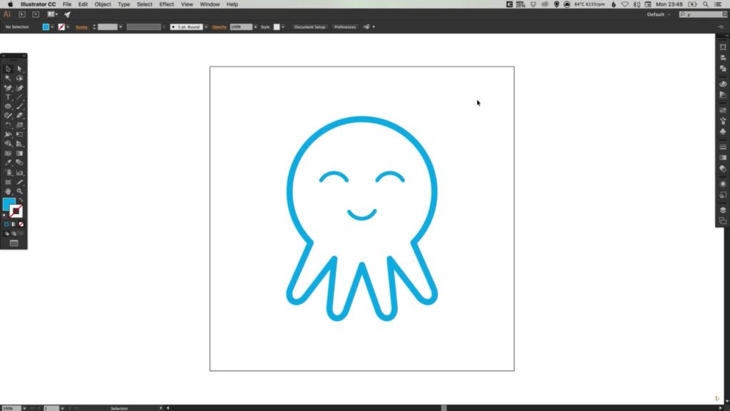 drawing-octopus-icon-adobe-illustrator-9