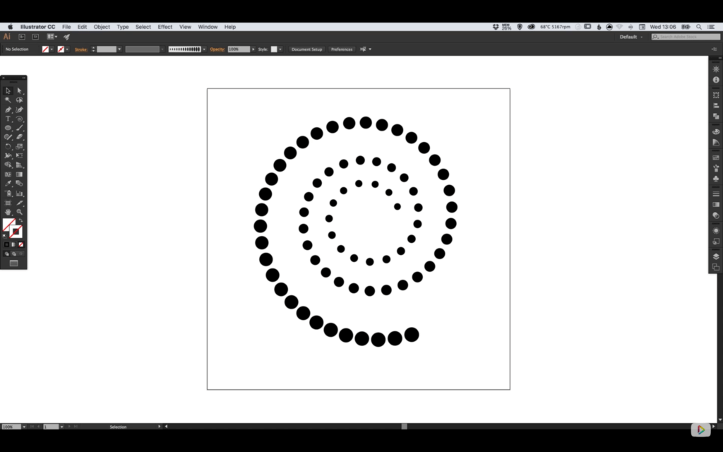 progressively-larger-dots-spiral-path-6
