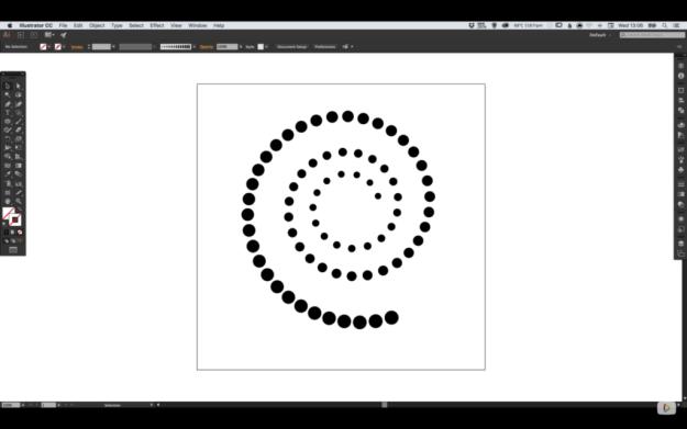 progressively-larger-dots-spiral-path-6