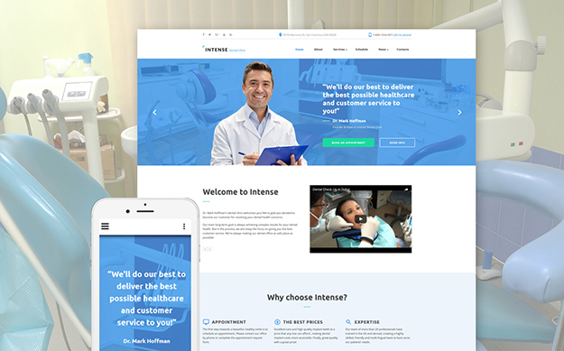 Dentist Site Template
