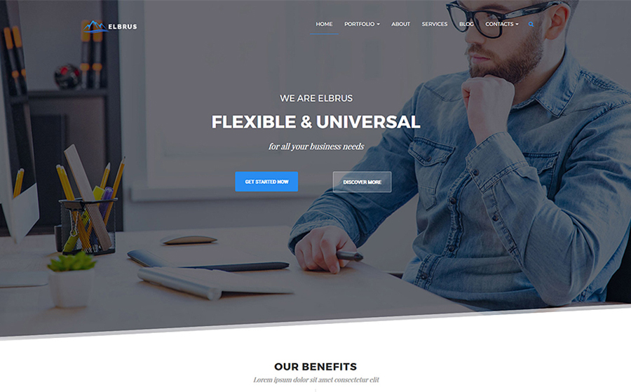 Business & Marketing Multipurpose WordPress Theme