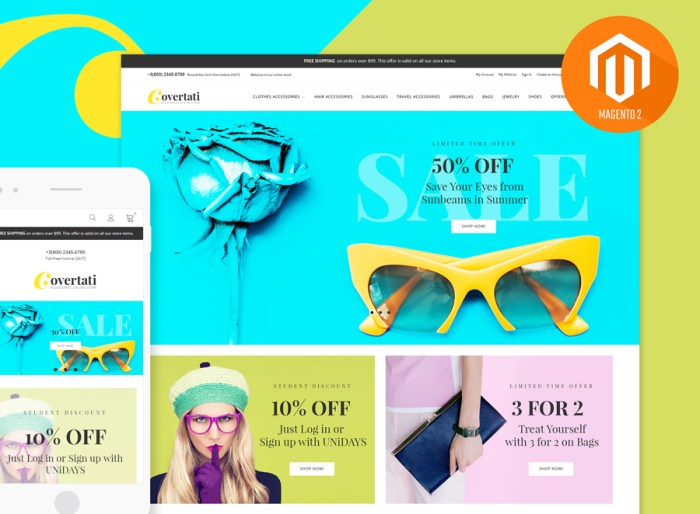 Covertati - Accessories Magento Theme