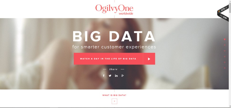 OgilvyOneWorldwide website