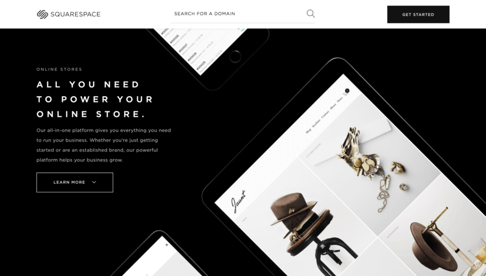 squarespace website design