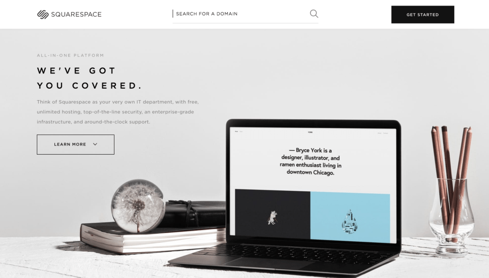 Squarespace redesign features