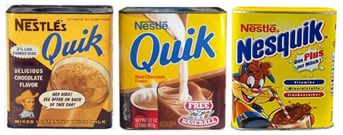 nesquik packaging