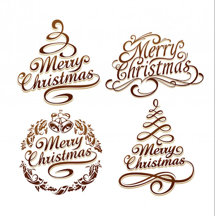 christmas-logo-collection