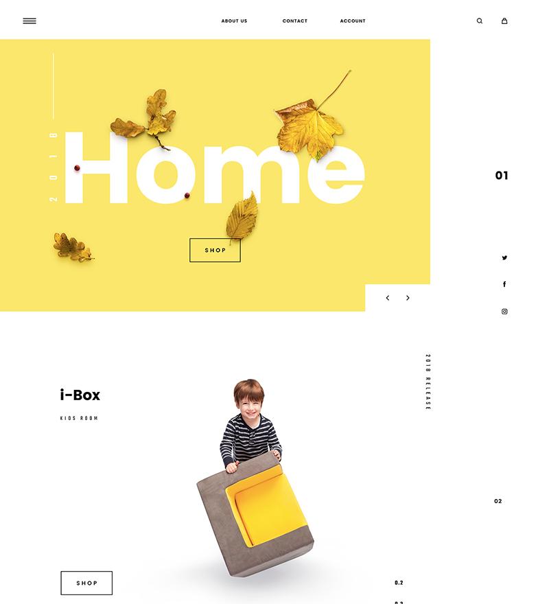 e-commerce-minimalistic