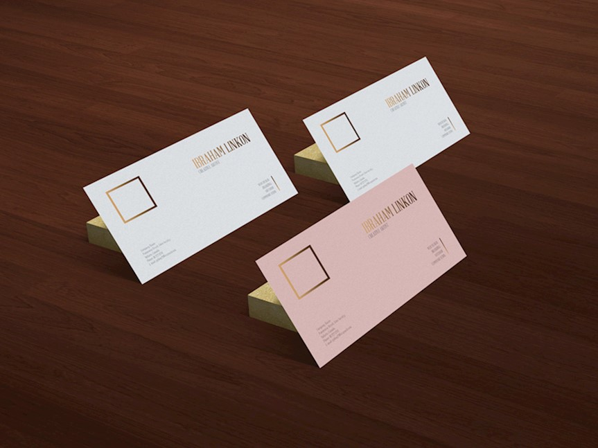 free-business-card-on-wooden-floor-mockup
