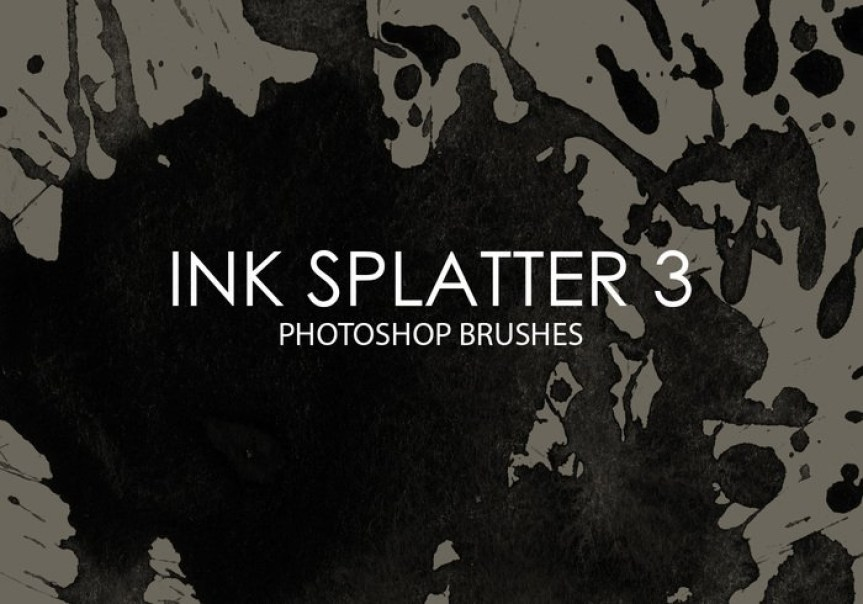 free-ink-splatter-photoshop-brushes