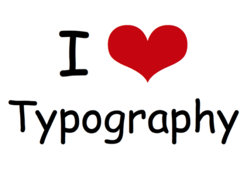 Typography Comic Sans