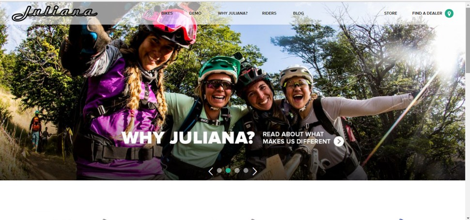 juliana bicycles websites