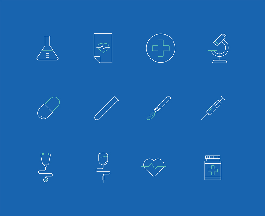 line-medical-iconsets