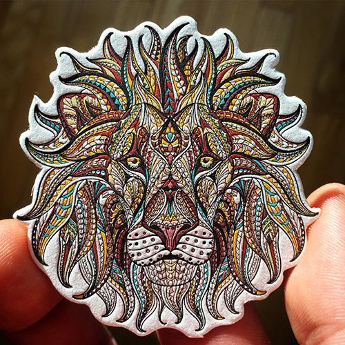 lion-business-card-letterpress