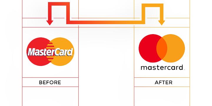 mastercard logo redesign