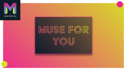 Muse For You - Gradient Text Widget - Adobe Muse CC - Web Design Ledger
