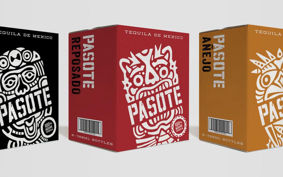 pasote tequila custom designd