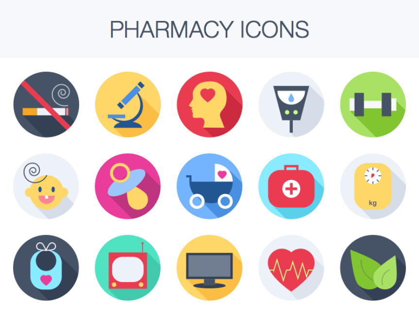 dragon digital 20 free medicine icon sets you can use